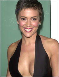 Alyssa Milano's Short Haircut