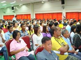 โครงการอบรมคณะกรรมการชุมชน เทศบาลตำบลกุดน้ำใส 2551
