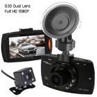 กล้องติดรถยนต์ Dual Lens Car DVR Camera G30 (HD 1080P)