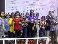 ร่วมเชียร์วอลเลย์บอลหญิงทีมชาติไทย u19 ชิงแชมป์เอเชีย