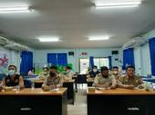 ประชุมกำนันผู้ใหญ่บ้าน ผู้นำชุมชน ตำบลปิงโค้ง ประจำเดือน กันยายน 2564