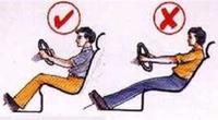 ปรับท่านั่งขับรถยนต์ อย่างถูกวิธี