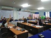ประชุมแผนดำเนินงานเทศบาลตำบลปิงโค้ง ประจำปี 2565