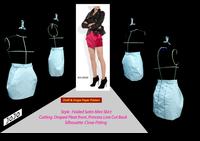 กระโปรงจับเดรป : Drape Skirt