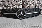W207 E-Class Coupe Matte Black-Chrome Grille [SL-Style]