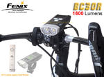 ไฟจักรยาน Fenix BC30R 1600 lumens ชาร์จในตัว