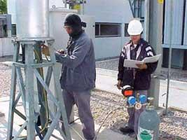115 kV GIS SF6 Gas Filling