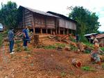 ตรวจงานโครงการก่อสร้างอาคารอเนกประสงค์ ณ บ้านกิ่วไฮ