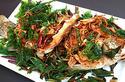 DF20 ปลากะพงทอดสมุนไพร (Deep fried Snapper fish with herb)