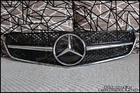W207 E-Class Coupe Black Chrome Grille [SL-Style]