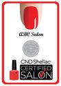 ร้านที่ได้รับรองจาก CND Shellac Salon Certified 2013