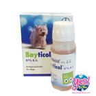Bayticol หรือไบติคอล 6% เป็นยากำจัดเห็บ หมัด ใช้ภายนอก ขนาด 100 ซีซี ไบติคอลเป็นสินค้าจากเยอรมนี