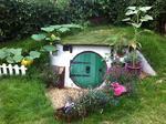 วิธีการสร้างบ้านฮอบบิทในสวนหลังบ้าน