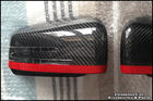 [RED] Original W156 Mercedes Carbon Mirror Housing