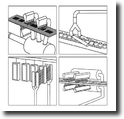 Air Knife อุปกรณ์เสริมสำหรับการเป่าแห้ง ทำความเย็น