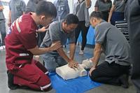 อบรมหลักสูตรการช่วยฟื้นคืนชีพขั้นพื้นฐาน (CPR)