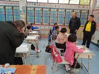 บรรยากาศการสอบคัดเลือกรับทุนการศึกษา