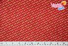 ผ้าคอตตอนนอก (1/2หลา) สีแดง