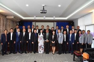 PEA ENCOM จัดอบรม Training Course on management capacity building in Thailand 2019 ให้กับการไฟฟ้าเวียดนาม The Electricity of Vietnam Northern Power Corporation (EVN NPC)