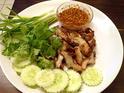 NO. DF14 หมูย่างพริกไทยดำ (Roast Pork with Black Pepper)