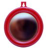 กระจกนูนขอบพลาสติกแดงเบอร์ 6