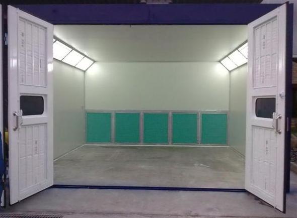 ห้องพ่นสีระบบฟิลเตอร์