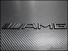 Black AMG Emblem