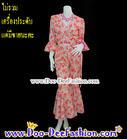 ชุดอีเจ้ย ชุดลายดอก ชุดย้อนยุค ชุดทองกวาว ธีมงานวัด เสื้อ + กางเกง สีสวยสดใสมากๆ (อกไม่เกิน 41 นิ้ว / เอวไม่เกิน 34 นิ้ว) (ดูไซส์ส่วนอื่น คลิ๊กค่ะ)