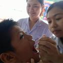 หยอดวัคซีนป้องกันโรคไข้เลือดออก