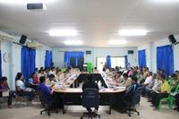ประชุมกำนันผู้ใหญ่บ้าน ผู้นำชุมชนในตำบลปิงโค้ง ประจำเดือน ธันวาคม 2562