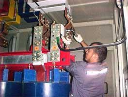 22 kV Busbar Tightening Check