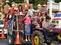 เทศกาลหุ่นไล่กาชุมชนบ้านสามเรือน  อ.บางปะอิน จ.พระนครศรีอยุธยา  เที่ยวชมวิถีชีวิตไทยๆ