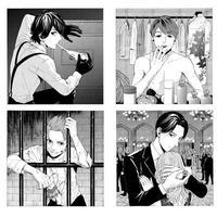 KAT-TUN สวมบทสปายในภาพวาดการ์ตูนของ Shimotsuki Kayoko