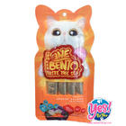 ขนมแมวเลีย INE BENTO รสแซลมอนรมควัน (Smoked Salmon) เสริมสร้างระบบภูมิคุ้มกัน บำรุงสายตา 15g 4ซอง/ถุง