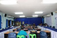 ประชุมเตรียมความพร้อม ศูนย์ปฏิบัติการควบคุมโรคตำบลปิงโค้ง