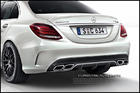 Genuine W205 C63 AMG Rear Diffuser [Sport]