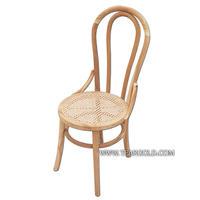 เก้าอี้ไม้สักผสมหวาย
