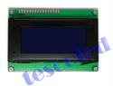 16x4 LCD modules with LED backlight blue