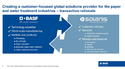 BASF and Solenis to join forces by combining paper and water chemicals businesses, by chemwinfo