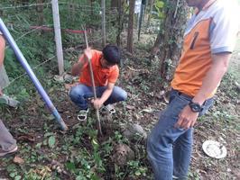ลงพื้นที่ป่าปกปักติดตั้งป้ายเหล็กพื้นที่ปกปักทรัพยากรท้องถื่น ณ บ้านป่าตึงงาม หมู่ที่ 15