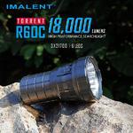 ไฟฉาย Imalent R60C 18,000 Lumens 6 ตาบ้าพลังสุดๆ