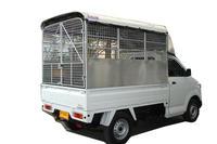 หลังคารถกระบะ Suzuki carry อลูมิเนียมแบบตาข่าย ทั้งคัน มีแผงข้าง แบบที่ 5