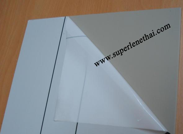 PP (Polypropylene) แผ่น สีเทา