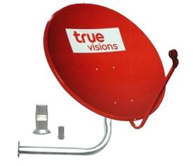  TRUE VISION 75cm.+LNBF11300+