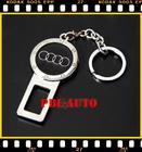 หัวเข็มขัดนิรภัยกันเสียงเตือน สำหรับ ผู้ที่รำคาญเสียงสัญญาณเตือน Audi  metal seat belt buckle alarm stopper key chain