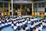 เทศบาลเมืองลัดหลวง เดินหน้ากองถุงพลาสติกเปรอะ สู่โรงเรียนในเขตพื้นที่ จับมือ(โรงเนียนราชประชาสมาสัย ในพระบรมราชูปถัมภ์ ฝ่ายอนุบาลและฝ่ายประถม)เป็นโรงเรียนนำร่อง