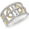 แหวนเพชรแฟนซี 2.0 ct. ทอง 90%