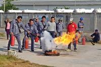 อบรมดับเพลิงขั้นต้นและอพยพหนีไฟ