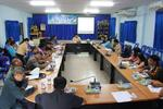 ประชุมเพื่อปรึกษาหารือในการเตรียมการจัดกิจกรรมวิถีชน คนปิงโค้ง ประจำปีงบประมาณ 2559