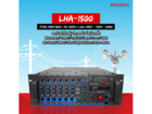 เครื่องขยาย HONIC LHA-1500